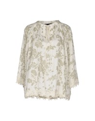 Twin Set Simona Barbieri Shirts Blouses Women Ivory