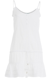Melissa Odabash Cotton Eyelet Dress Perfect For A Day At The Beach Or Pool