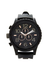 Forever 21 Men Silicone Strap Matte Watch