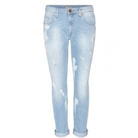 True Religion Grace Slouchy Skinny Jeans Summer Clouds