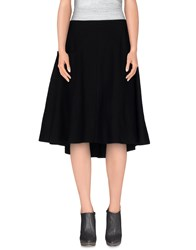 Y 3 Skirts Knee Length Skirts Women Black