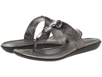 Bandolino Jesane Pewter Synthetic Women's Sandals Metallic