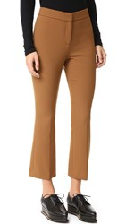 Theory Erstina Cropped Flare Pants Vicuna