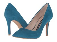 French Connection Rosalie Ink Blue Kid Suede Women's Shoes
