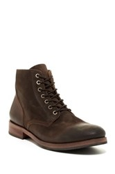 Rogue Burgue Plain Toe Boot Brown