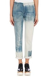Stella Mccartney Boyfriend Distressed Jeans Colorless