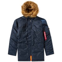 Alpha Industries N3b Vf 59 Jacket Blue