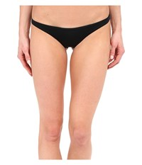 Vitamin A Swimwear Samba Ruched Back Bottom Eco Black 2 Women's Swimwear