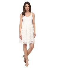 Amanda Uprichard Confetti Lace Champagne Dress White Confetti Women's Dress