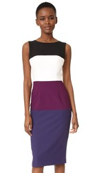 Black Halo Berlin Colorblock Sheath Dress Bombsicle
