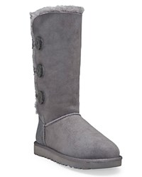 Ugg Bailey Button Triplet Boots Grey