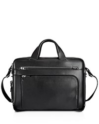 Tumi Arrive Sawyer Leather Brief Black