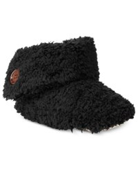 Charter Club Super Soft Bootie Slippers Only At Macy's Classic Black