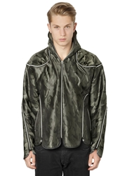 Final Home On Air Printed Techno Twill Jacket Camouflage
