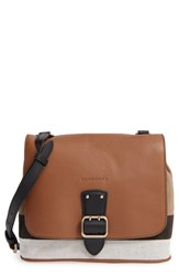 Burberry 'Small Shellwood' Canvas And Leather Crossbody Bag