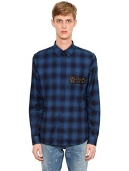 Givenchy Checked Cotton Flannel Shirt