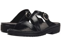 Naot Footwear Geneva Black Madras Leather Women's Sandals