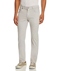 7 For All Mankind Luxe Performance Sateen New Tapered Fit Jeans In Light Pink Midnight Blue