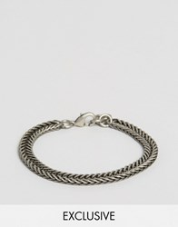 Seven London Chain Link Bracelet Exclusive To Asos Silver