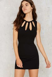 Nasty Gal Making The Cutout Mini Dress