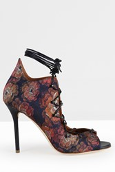 Malone Souliers Brocade Sandals Multi