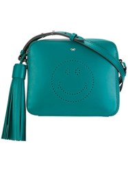 Anya Hindmarch 'Smiley' Crossbody Bag Green