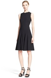 Women's Akris Sleeveless Godet Pleat Dress