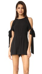 Keepsake Two Minds Romper Black