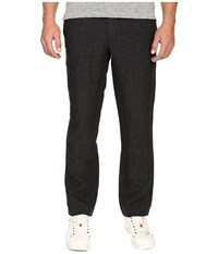 Todd Snyder Brighton Linen Pants Charcoal Men's Casual Pants Gray