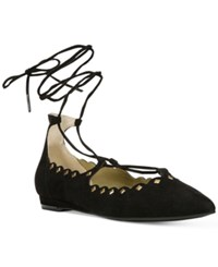 Carlos By Carlos Santana Liza Dress Flats Women's Shoes Black