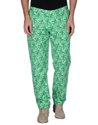 Isaia Trousers Casual Trousers Men Green