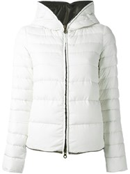 Duvetica Hooded Puffer Jacket White
