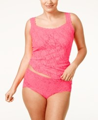 Hanky Panky Plus Size Signature Lace Camisole 1390Lx Sizzle Pink