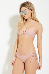 Forever 21 Low Rise Cheeky Bikini Bottoms