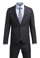 Burton Menswear London Skinny Suit Black