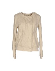 Tru Trussardi Coats And Jackets Jackets Women Beige