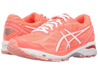 Asics Gt 1000 5 Flash Coral White Peach Melba Women's Running Shoes Orange