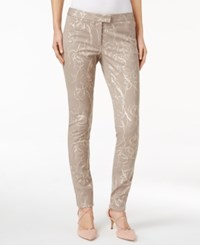 Alfani Petite Printed Straight Leg Ankle Pants Only At Macy's Designer Floral
