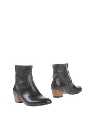 Primabase Ankle Boots Steel Grey