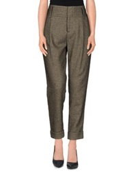 Alice Olivia Alice Olivia Casual Pants Military Green