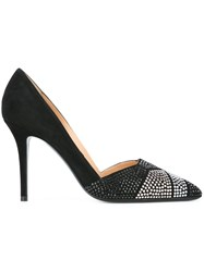 Giorgio Armani Embellished Pumps Black