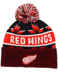 Old Time Hockey Detroit Red Wings Dasher Pom Knit Hat