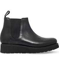 Grenson Lydia Leather Chelsea Boots Black