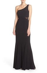 Xscape Evenings Women's Xscape One Shoulder Woven Gown