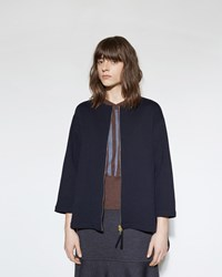 Marni Sweatshirt Jacket Blue Black