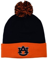 Top Of The World Auburn Tigers 2 Tone Pom Knit Hat