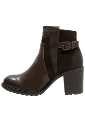 Buffalo Ankle Boots Nougat Brown