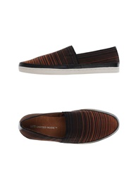 United Nude Low Tops And Trainers Dark Brown