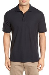 Nordstrom Men's Big And Tall Men's Shop 'Classic' Regular Fit Pique Polo Black Jet