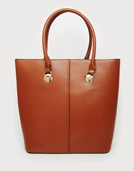 New Look Clean Structured Tote Bag Tan